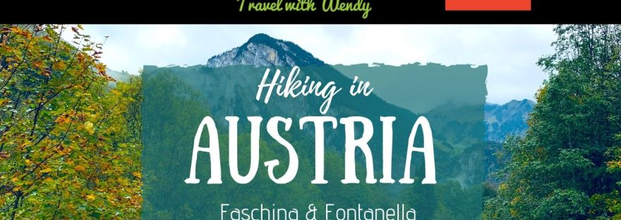 Hiking in Austria - Faschina and Fontanella