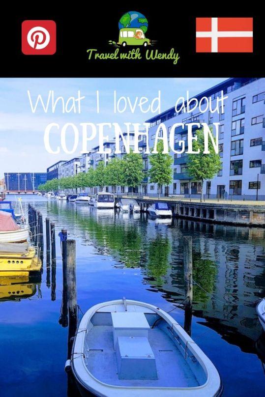 Copenhagen - What I loved PIN