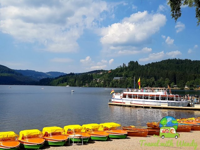 Boat tour around Lake Titisee