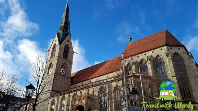 Marienkirche in the heart of Old Town - Rottweil