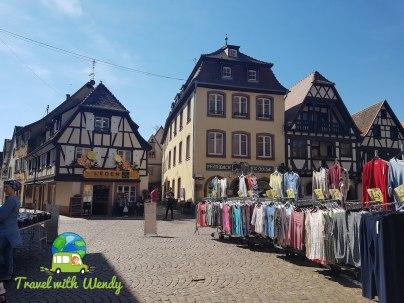 Market in Obernai