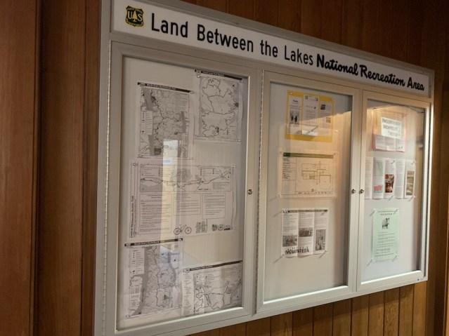 Land between the Lakes - Rec Map