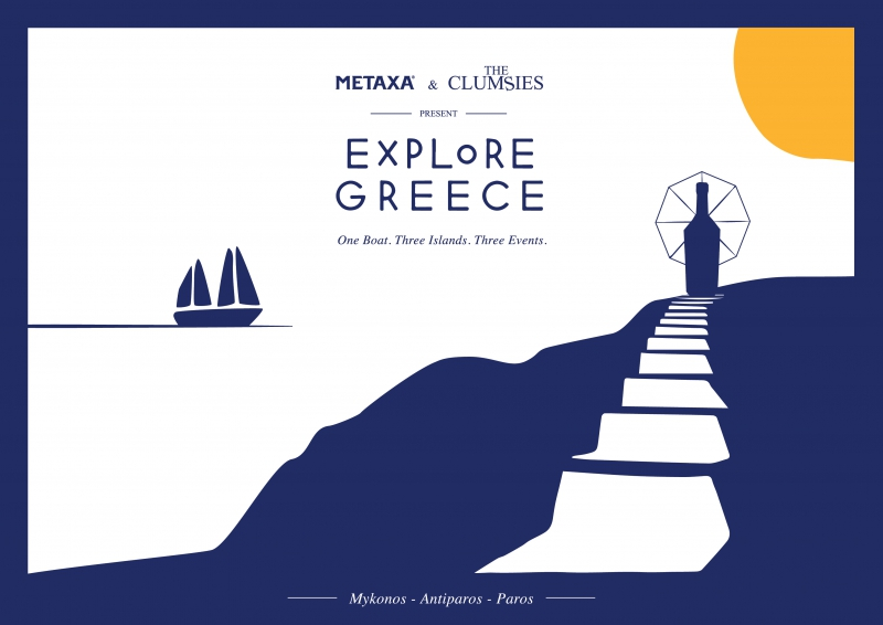 METAXA & The Clumsies Explore Greece | 001