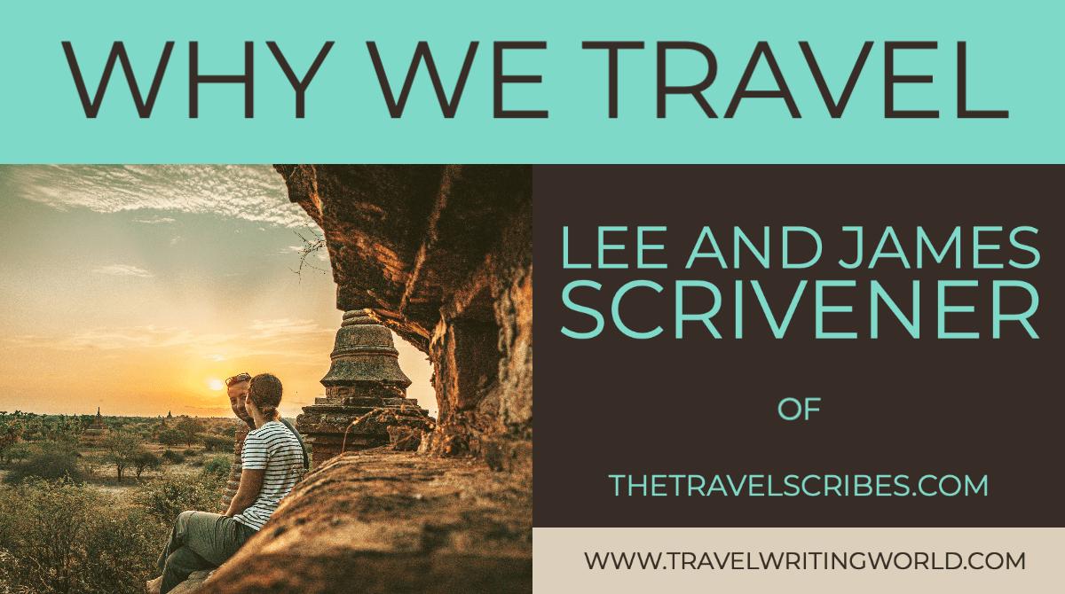 Lee and James Scrivener Interview