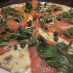 Norwegian-Star-La-Cucina-Smoked-Salmon-Pizza TravelXena.com