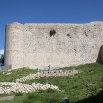 Chlemoutsi-Castle-Side-View TravelXena.com