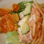 Shrimp-Salmon-Salad-Norwegian-Jewel-TravelXena