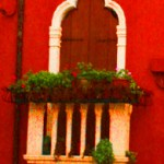 Burano-Italy-Arched-Doorway-Contrast-TravelXena
