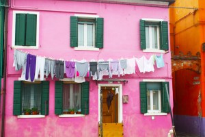 A Day in Burano Italy