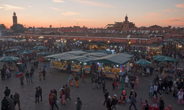 Marrakech with toddler