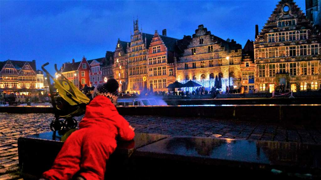 Ghent in winter with kids