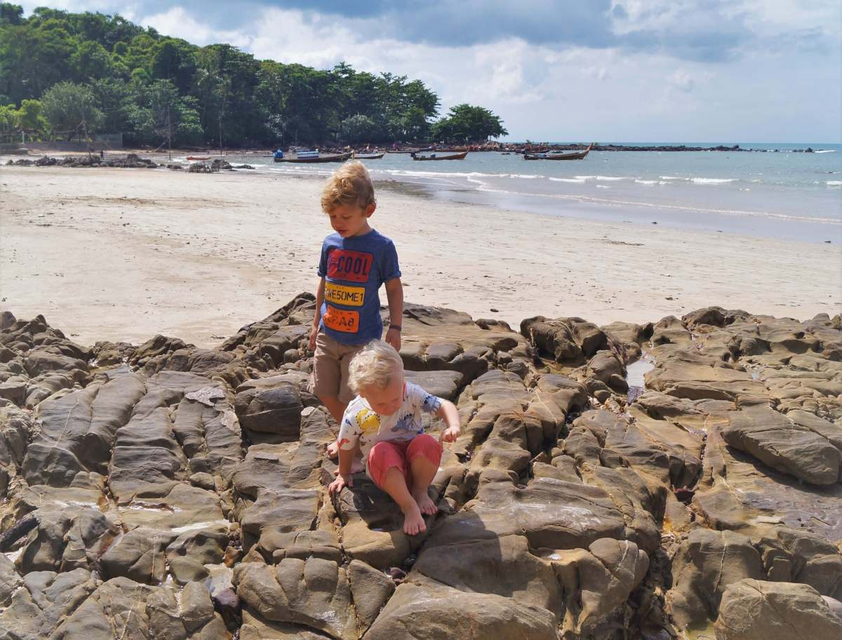 Ko Lanta with kids - Klong Dao Beach