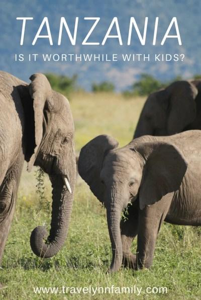 Tanzania with kids