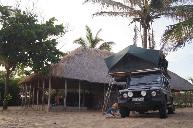 Mozambique with kids