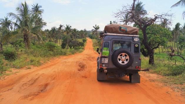 overlanding Africa with kids