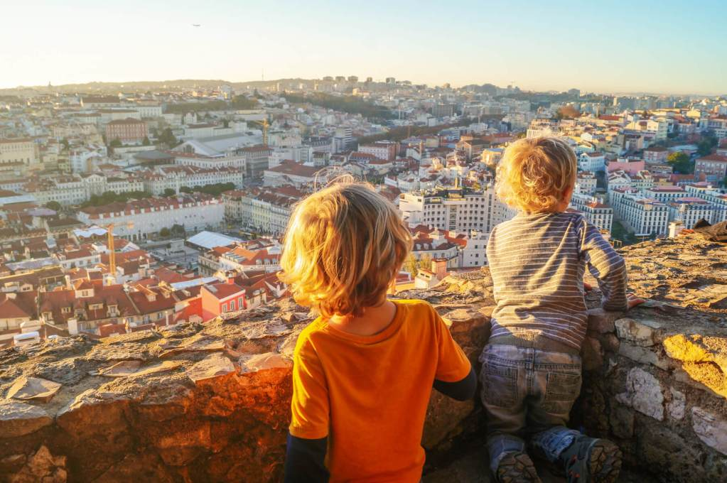 Itinerary for Lisbon with kids: what to do and where to go