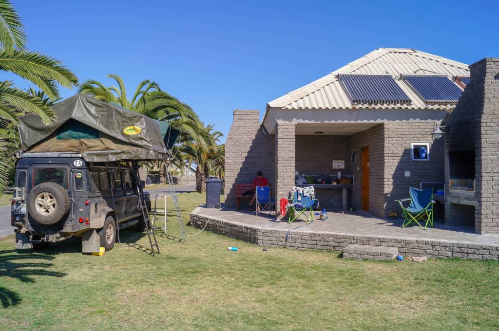 Alte Brucke campsite Swakopmund
