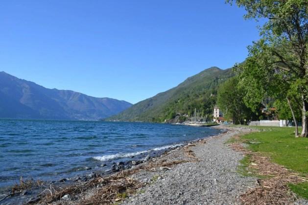 Macagno Beach, Lake Maggiore