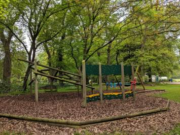 playground in woodland
