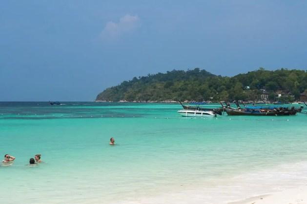 Beautiful beach of Koh Lipe