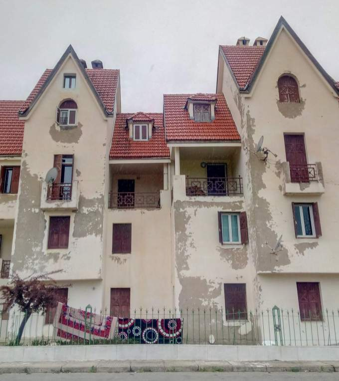 weathered housing in Ifrane