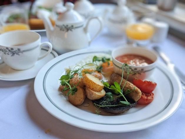 Laura Ashley Hotel The Iliffe breakfast