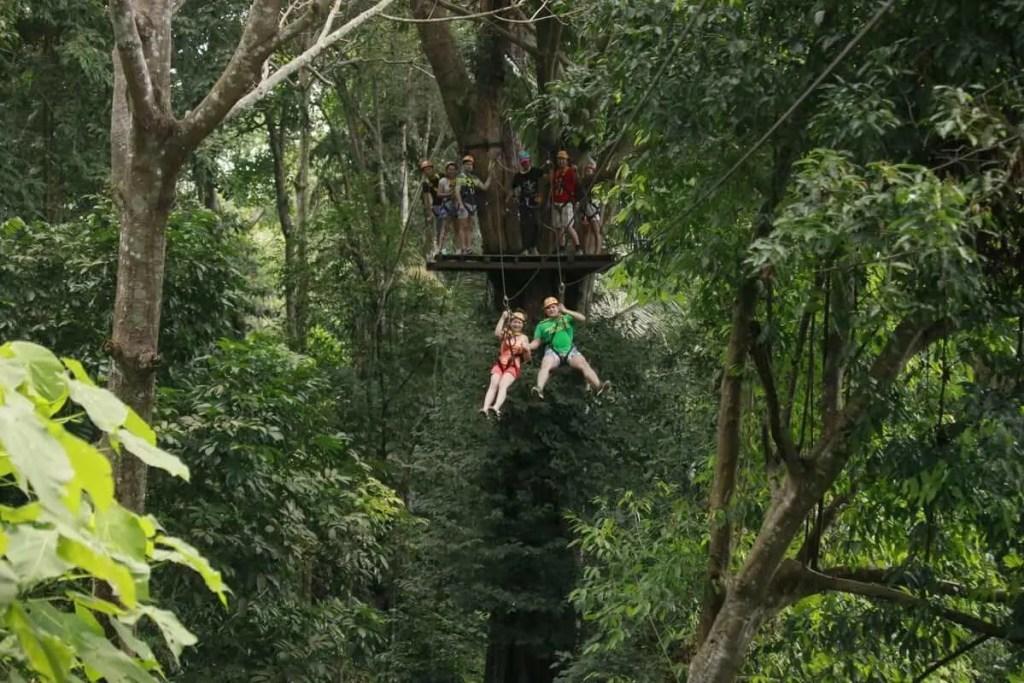 Phuket's Flying Hanuman