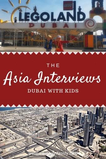Dubai with kids pin