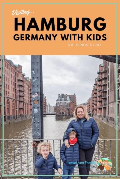 Hamburg with kids pin