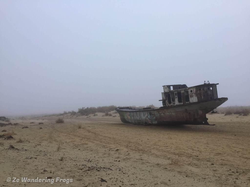 Aral Sea - Ze Wandering Frogs