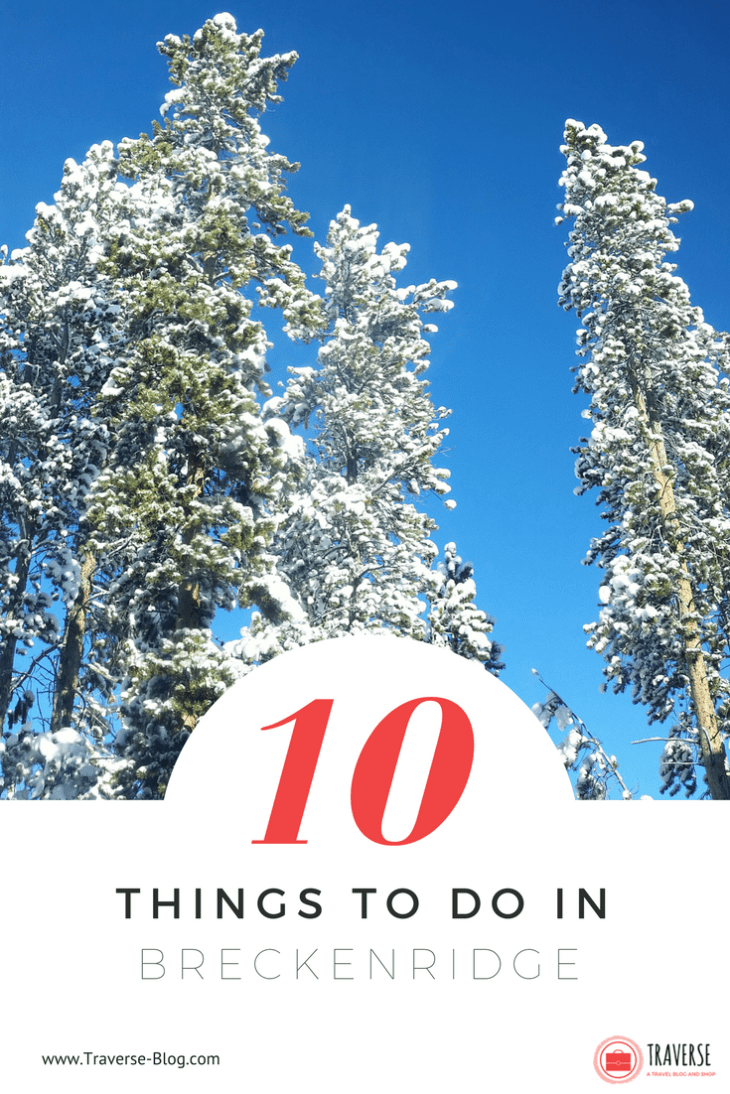 Breckenridge is one of my favorite places to vacation because I always feel so at peace and relaxed when I'm out here. Since I've got years of experience exploring the mountainside town of Breckenridge, I want to share my top 10 favorite things to do in the winter!