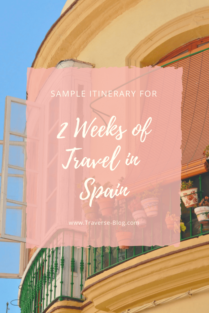 If you're considering a visit to Spain in the coming year, here is my sample itinerary for 2 weeks in Spain.
