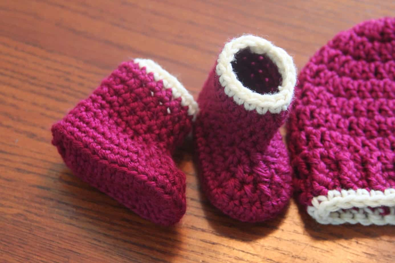 Crochet Baby Booties Free Pattern Crochet Seamless Baby Booties