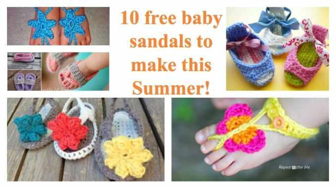 Top 10 Crochet Baby Sandals Roundup