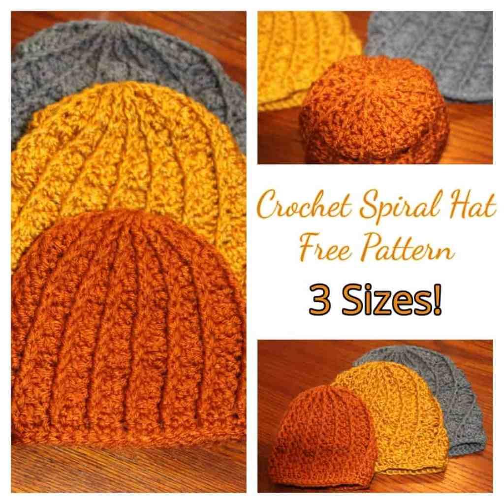 Crochet texture hat, crochet baby hat, free crochet pattern |