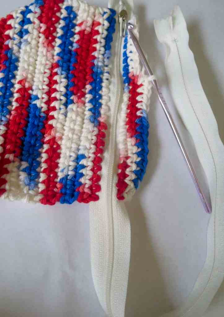 Crochet Zipper Wallet Free Crochet Pattern Crochet