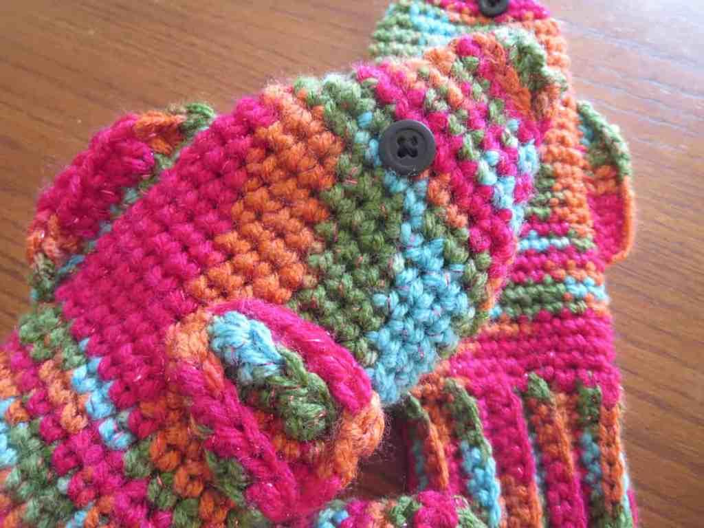 Crochet Fish Mittens