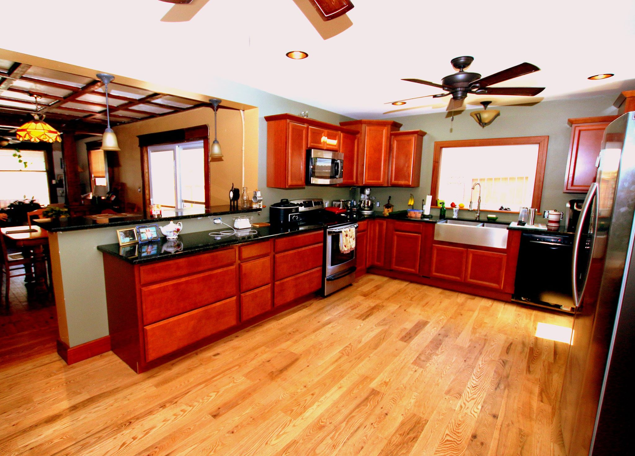 Best Kitchen Gallery: Character Grade White Oak Kitchen Remodel In Traverse  City Michigan Of Kitchen