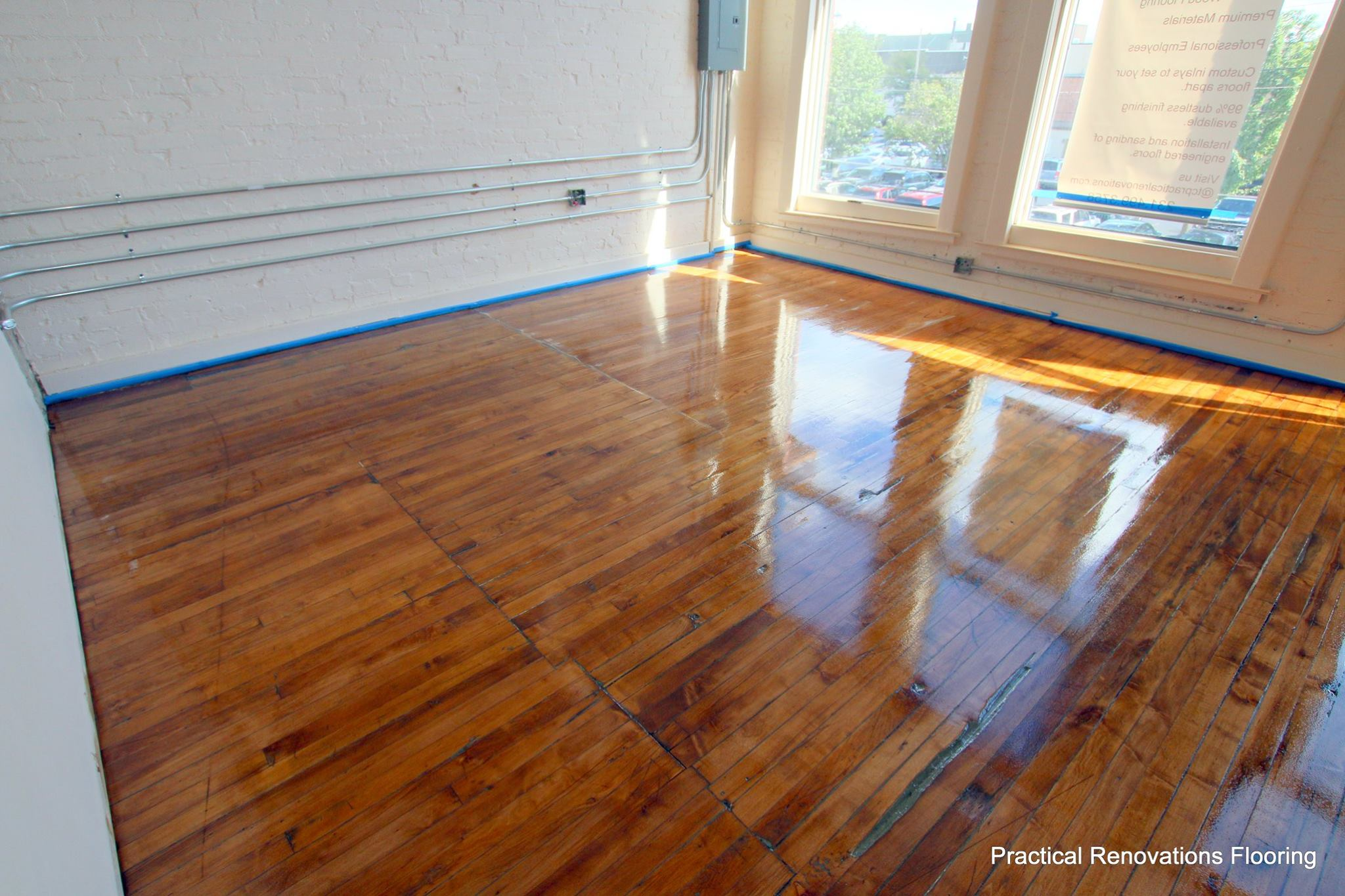 Wood Floor Restoration In Traverse City Michigan