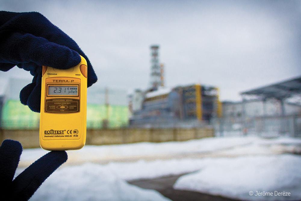 Voyager à Tchernobyl - Voyager à Prypiat - Compteur Geiger