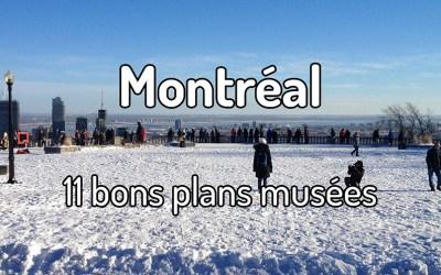 11 bons plans musées à Montréal