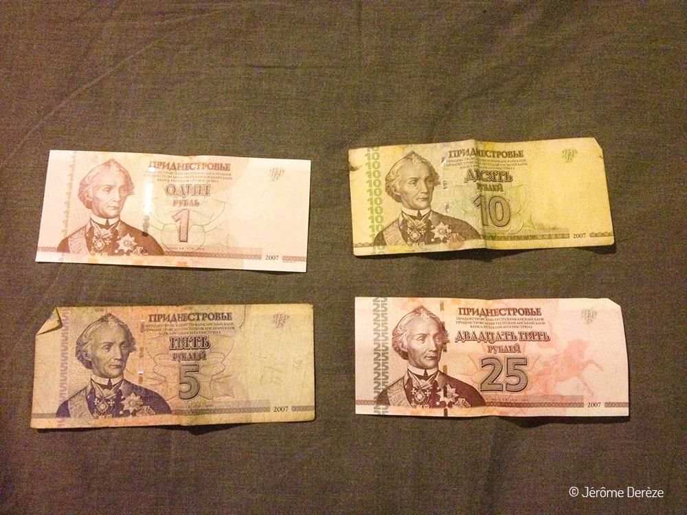 Billets de transnistrie