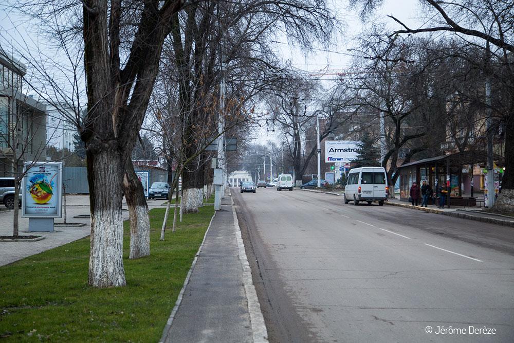 Avenue du 25 octobre à Tiraspol