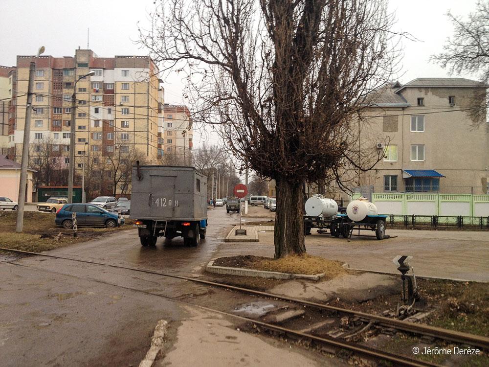 Dans les rues de Tiraspol