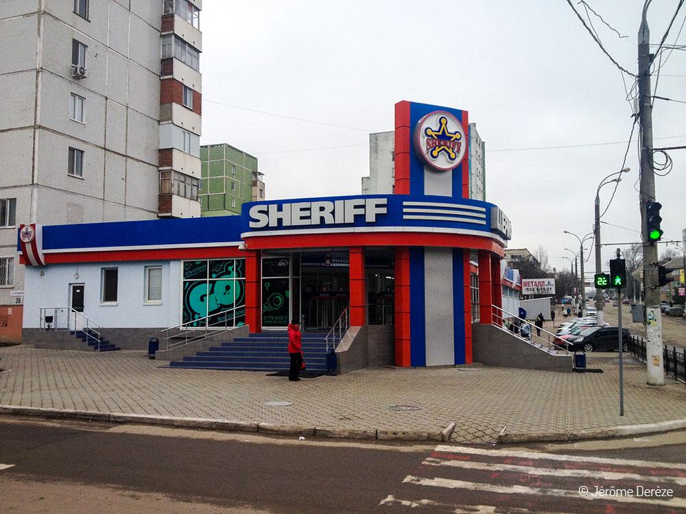 Commerce à Tiraspol