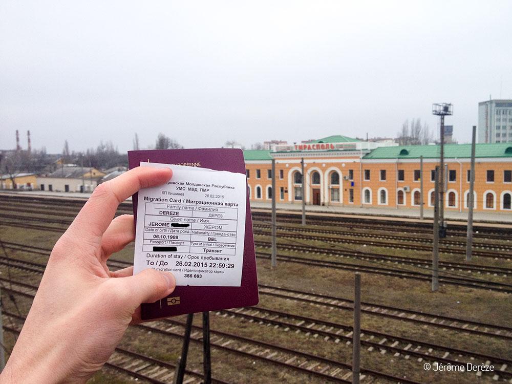 Visa pour la transnistrie
