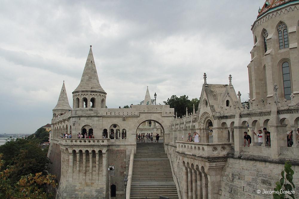 Bastion des pêcheurs à Budapest