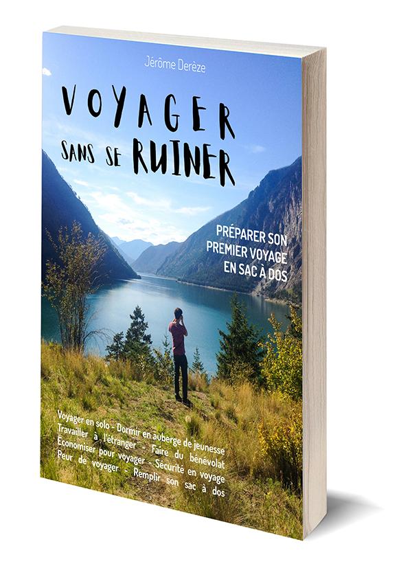 Livre Voyager sans se ruiner - Voyager pas cher en sac à dos