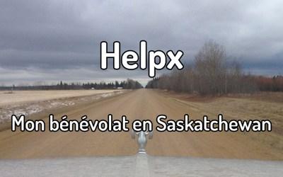 Helpx – Mon bénévolat en Saskatchewan
