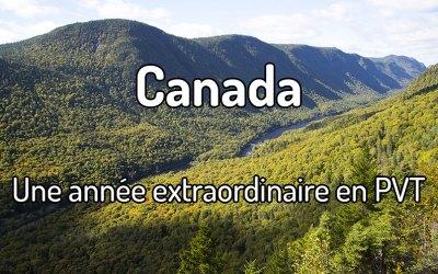 Une année extraordinaire en PVT au Canada